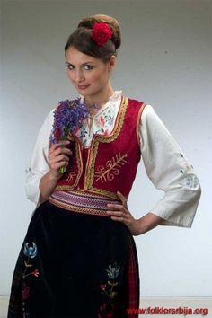 Serbian national costume