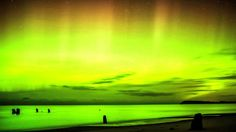 Video Still of Northern Lights Over Leland, MI #3 Credit: Guy Strong Astrophotographer Guy Strong made a time-lapse video of the northern lights in the Northern Lower Peninsula of Michigan on the evening of Nov. 13-14, 2012.