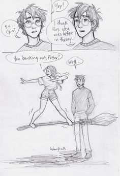 harry and ginny comic by burdge- part 1