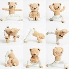 Meddy Teddy is a bendable meditating, yoga and mindfulness teddy bear. Teach kids/children by bending Meddy Teddy into different yoga and meditation poses. Baby Massage, Learn Yoga, How To Do Yoga, Yoga Zen, Chico Yoga, Yoga Position, Easy Meditation, Tatty Teddy, Cute Teddy Bears