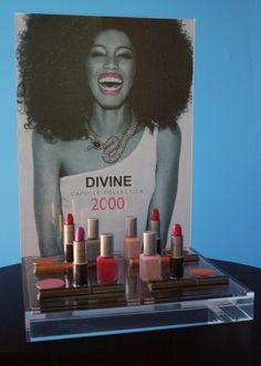 cosmetic display for fashion fair
