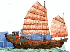 PAINTINGS OF CHINESE JUNKS | Free Standing Mast - Page 4 - SailNet Community