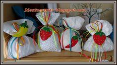 Μπομπονιέρες βάπτισης με πιπεριές και φράουλες σε μοναδικούς χειροποίητους συνδυασμούς για παραδοσιακή βάπτιση...Christening baptism favors  with peppers and strawberries for  a traditional mountain Christening...unique and handmade!