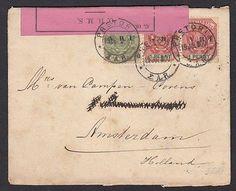 Transvaal old censored cover to Netherlands  1900--------------------------C3324