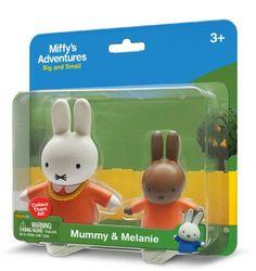 Mummy & Melanie 2 Pack Miffy Toys £7.99