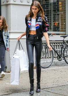 48e6864ae60 A Definitive Guide to Kaia Gerber s Best Street-Style Looks