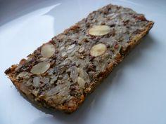 Magiskt bröd – Ilovefruktsallad's Blog Raw Food Recipes, Bread Recipes, Baking Recipes, Snack Recipes, Snacks, Gluten Free Baking, Healthy Baking, Hot Cocoa Recipe, Foods With Gluten