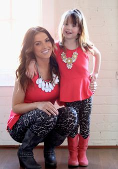 Ryleigh Rue Clothing by MVB - Mommy Black and White Leopard Leggings, $24.00 (http://www.ryleighrueclothing.com/mommy/mommy-black-and-white-leopard-leggings.html)