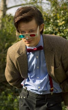 Cosplay of the Eleventh Doctor by matteleven. Looks just like him!