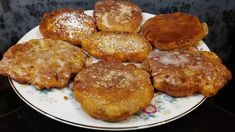 Apple Fritters - 100 Year Old Recipe - The Hillbilly Kitchen Old Recipes, Donut Recipes, Apple Recipes, Other Recipes, Sweet Recipes, Cooking Recipes, Vintage Recipes, Köstliche Desserts, Delicious Desserts