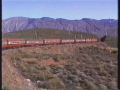 Trans Karoo Express over Hex River Pass 1989 South African Railways, Places To Travel, Places To Go, Steam Locomotive, Trains, Youth, Icons, River, Outdoor