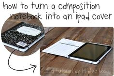 Cool Stuff We Like Here @  http://coolpile.com/tag/ipad ------- << Original Comment >> ------- turn a comp book into a cover! #ipad #mini #news #information #tips #accessories #ideas #apple #device