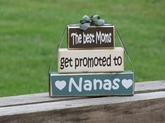 Cute way to tell your mom your prego
