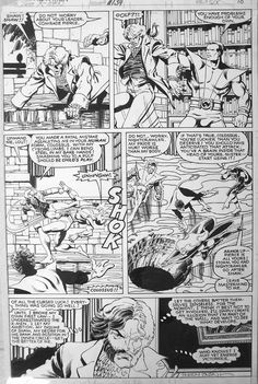 Uncanny X-Men #134, page 10 by John Byrne & Terry Austin. 1980.