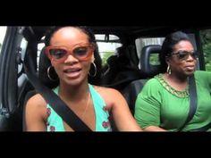 Oprah: How Rihanna Surprised Me...    My two favorite celebs! -MM