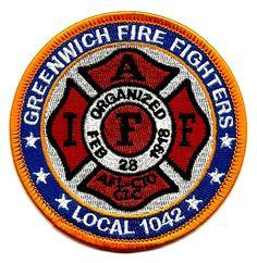 Greenwich,Connecticut-Fire Department Patch.