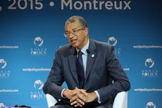 """""""I would like to emphasize the fact that the World Policy Conference immediately addressed questions in which religion met geopolitics, [...] in a moment where it was not as obvious that religion had become a geopolitical dimension, crossed with development phenomenons."""" - Lionel Zinsou, Prime Minister of Benin."""