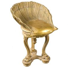 Italian Neoclassical Style Carved and Gilt-Wood Ladys Dressing Chair for Sale at Auction on Wed, 02/09/2011 - 07:00 - Belle Epoque: 19th & 20th Century Decorative Arts | Doyle Auction House