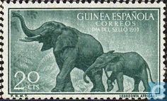 1957 Spanish Guinea - Day stamp