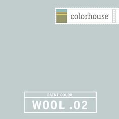 Colorhouse WOOL .02 - Feels like low clouds in a Portland sky. Classic kitchen hue when combined with marble counter tops and brilliant white cabinetry.