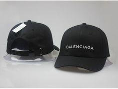 Men s   Women s Balenciaga Classic Balenciaga Embroidered Logo Baseball Hat  - Black   White Balenciaga Store 68bbb0aa3d63