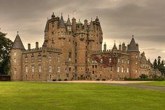 Glamis castle. by Maurizio Contini, via Flickr