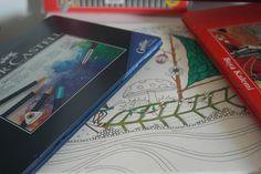 Hayatı Makyajla - Makyaj, Moda, Hayat, Kozmetik, Güzellik ve Bakım Blogu: Faber Castell Ve Gizemli Orman Boyama Kitabı