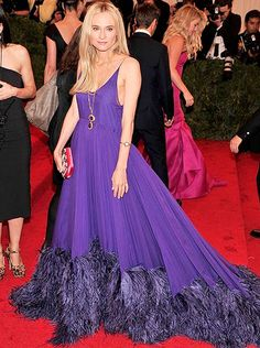 MET 2012. Diane Kruger in prada