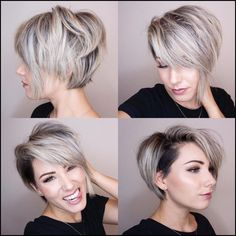 70 Short Shaggy, Spiky, Edgy Pixie Cuts and Hairstyles | Undercut ... #Frisuren #HairStyles 30+ Kurze Funky Pixie Frisur
