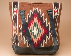 Western Zapotec Wool Rug Purse (p475)