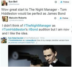 The Night Manager Proves Tom Hiddleston Should Be the Next 007 | Community Post: 007 Reasons Why Tom Hiddleston Should Be Your Next James Bond