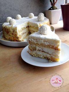 raffaello cake | Une irrésistible envie de sucré.