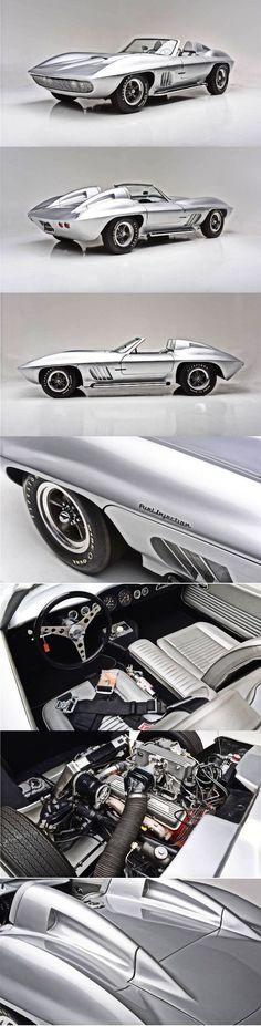1958 Chevrolet Corvette Fiberfab Centurion #chevroletcorvette1958 #chevroletcorvettevintage