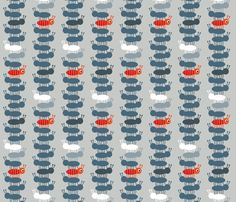 Jack Tower fabric by spellstone on Spoonflower - custom fabric