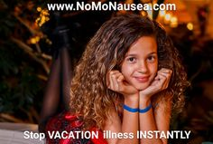 Stay well during vacation with NoMo Nausea Bands.