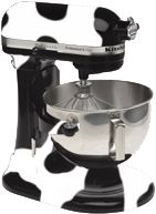 Cow Painted KitchenAid = Fantastic! #Farmalicious #Darigold....this is what I should do to mine