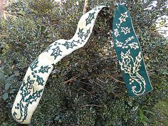 Ravelry: Holly Dragon Scarf pattern by Tania Richter
