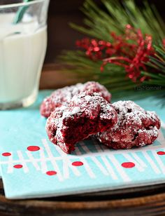 Red Velvet Gooey Butter Cookies I Heart Nap Time | I Heart Nap Time - Easy recipes, DIY crafts, Homemaking