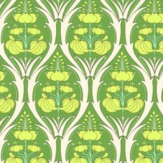 $7.50/y Manufacturer: Westminster / Free Spirit (AB66 Fern) Designer: Amy Butler Collection: Soul Blossoms Print Name: Passion Lily in Fern