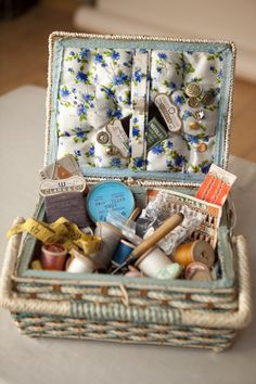 Sewing basket from Christina Wilson's blog