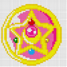 Sailor Moon Perler Beads