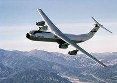 Lockheed C-141 Starlifter, military strategic airlifter. First flight 1963