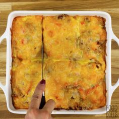 This Grilled Cheese Breakfast Bake tastes just how Friday feels. It will be your new go-to brunch dish. Grilled Cheese Sticks, Brunch Dishes, Breakfast Bake, Baked Eggs, Family Meals, Great Recipes, Grilling, Feels, Friday