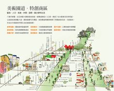 台中新建案 Map Design, Flyer Design, Graphic Design, Marketing Flyers, Real Estate Marketing, Map Projects, Urban City, City Maps, Map Art