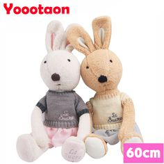 $37.72 (Buy here: https://alitems.com/g/1e8d114494ebda23ff8b16525dc3e8/?i=5&ulp=https%3A%2F%2Fwww.aliexpress.com%2Fitem%2F60cm-Kawaii-le-sucre-bunny-rabbit-plush-toys-High-quality-play-house-Stuffed-dolls-clothing-can%2F32681582681.html ) 60cm Kawaii le sucre bunny rabbit plush toys High-quality play house Stuffed dolls clothing can be take off. for just $37.72