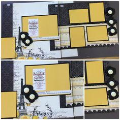 Best source for PAGE LAYOUT kits! http://scrapbookstation.com/boutique/double-feature-page-kits/