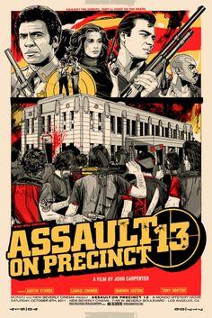 Mondo: The Archive | Tyler Stout - Assault on Precinct 13, 2011