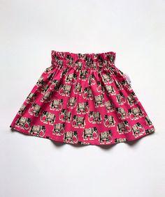 Fuchsia Elephants Skirt - Infant by Alejandra Kearl Designs #zulily #zulilyfinds