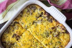 This low carb cheeseburger casserole is a hit with my whole family time and again! Tastes just like a juicy bacon cheeseburger and it's low carb too!