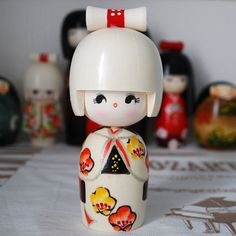Japanese KOKESHI DOLL-Handmade in Japan-Flower Girl | Dolls & Bears, Dolls, Clothing & Accessories, Artist & Handmade Dolls | eBay!